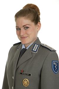 Deutscher SanOA e.V. - Vorstand - Bundeswehr - Leutnant (SanOA) Anna Schnitter