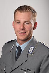 Deutscher SanOA e.V. - Vorstand - Bundeswehr - Fähnrich (SanOA) Paul Steinwerth
